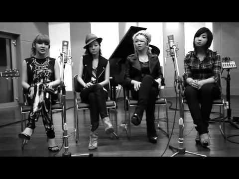 2NE1 Lonely (Acoustic) LIVE