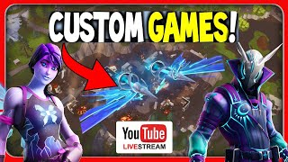 FREE GUIDE ⚡️ CUSTOM GAMES TURNIER | Fortnite Battle Royale