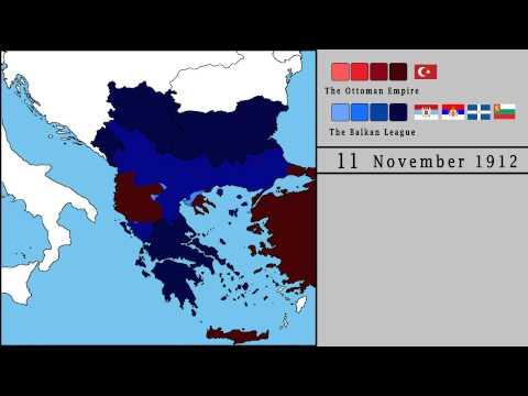 The First Balkan War (1912 - 1913)