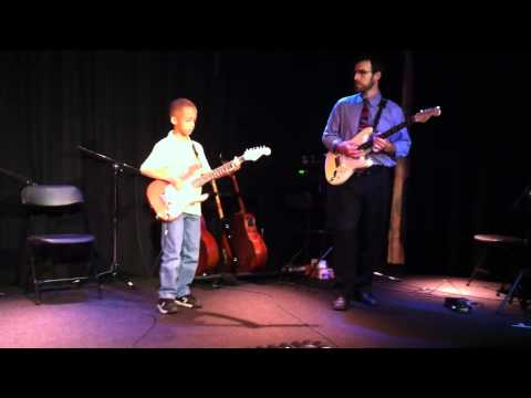 My 9 Year Old Son Nicholas Perfoming