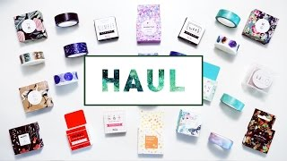 [Haul] AliExpress – Washi Tapes & Sticky Notes
