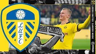 [NEW SEASON] IT'S HALAAND TIME!! FIFA 20 | Leeds United Career Mode S6 Ep1