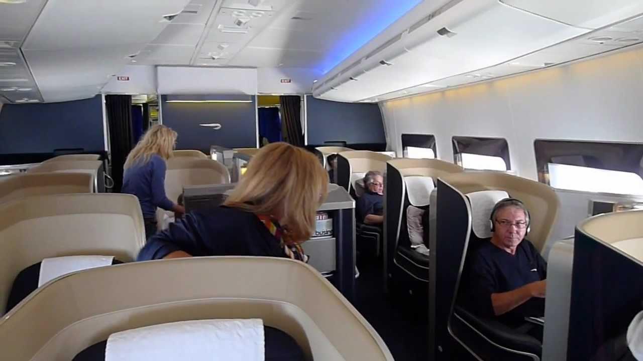 British Airways First Class Youtube