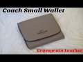 Unboxing: Coach Small Wallet