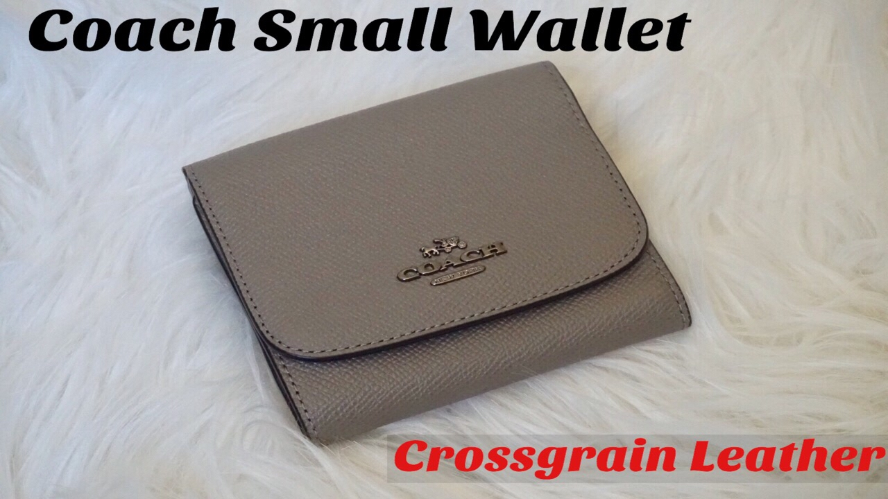34fd3ee4a5 Unboxing: Coach Small Wallet