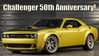 Meet the 2020 Dodge Challenger 50th Anniversary editions!