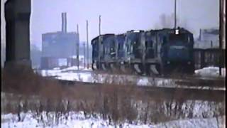 Railroad Action at Utica, NY Volume 39   February 2, 1997 (20 year old VHS)