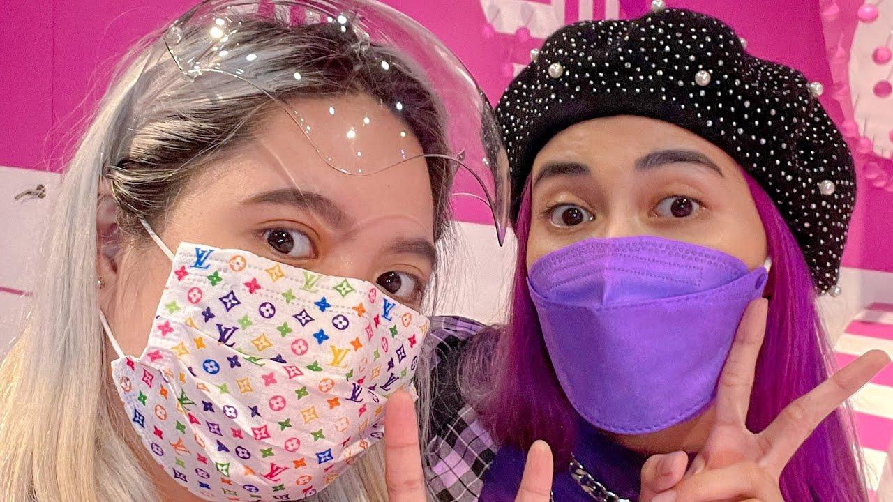 daily vlog ~ dessert museum date 🍭 unboxing my new vacuum 🍄 adidas haul 🛍