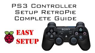 How to Setup Sony Playstation 3 Controller on Raspberry Pi