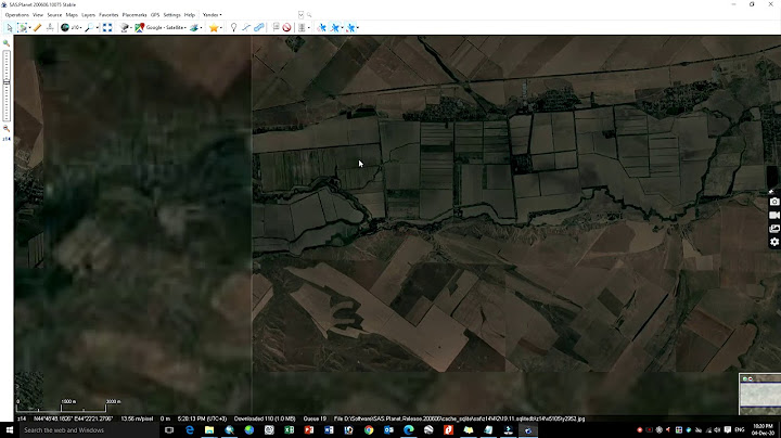 how to download high resolution georeferenced satellite images