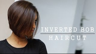 How to: Inverted Bob Haircut