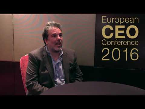 European CEO Conference 2016 - Alfredo Ingletti Interview