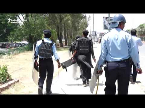 Protesters And Police Clash In Islamabad