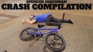 Spencer Foresman Crash Compilation!!