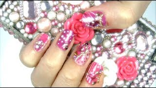 Girly Tokyo Party Nails