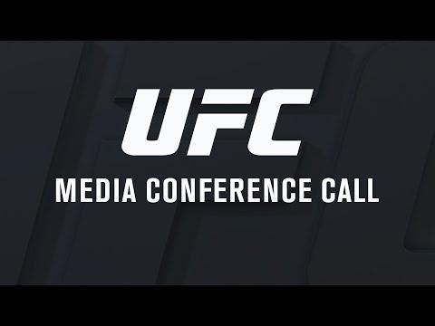 UFC 216: Ferguson vs Lee - Media Conference Call