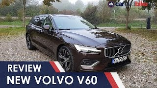Volvo V60 First Drive Review | NDTV carandbike