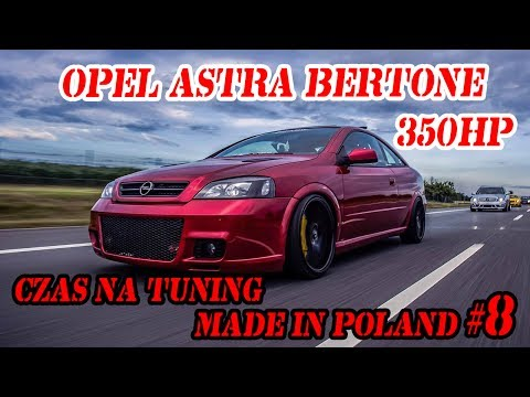 Opel Astra Bertone 350hp. Czas na Tuning...