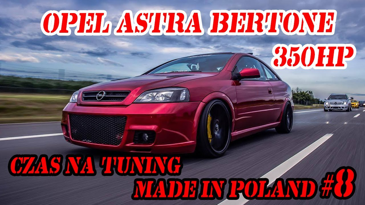 Opel Astra Bertone 350hp. Czas na Tuning Made in Poland #8