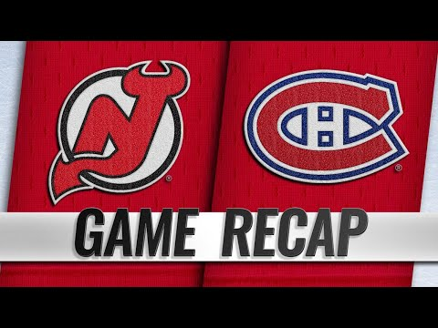 Three-goal 3rd lifts Canadiens past Devils, 3-1