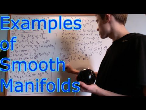 Manifolds 2.2 : Examples and the Smooth Manifold Chart Lemma