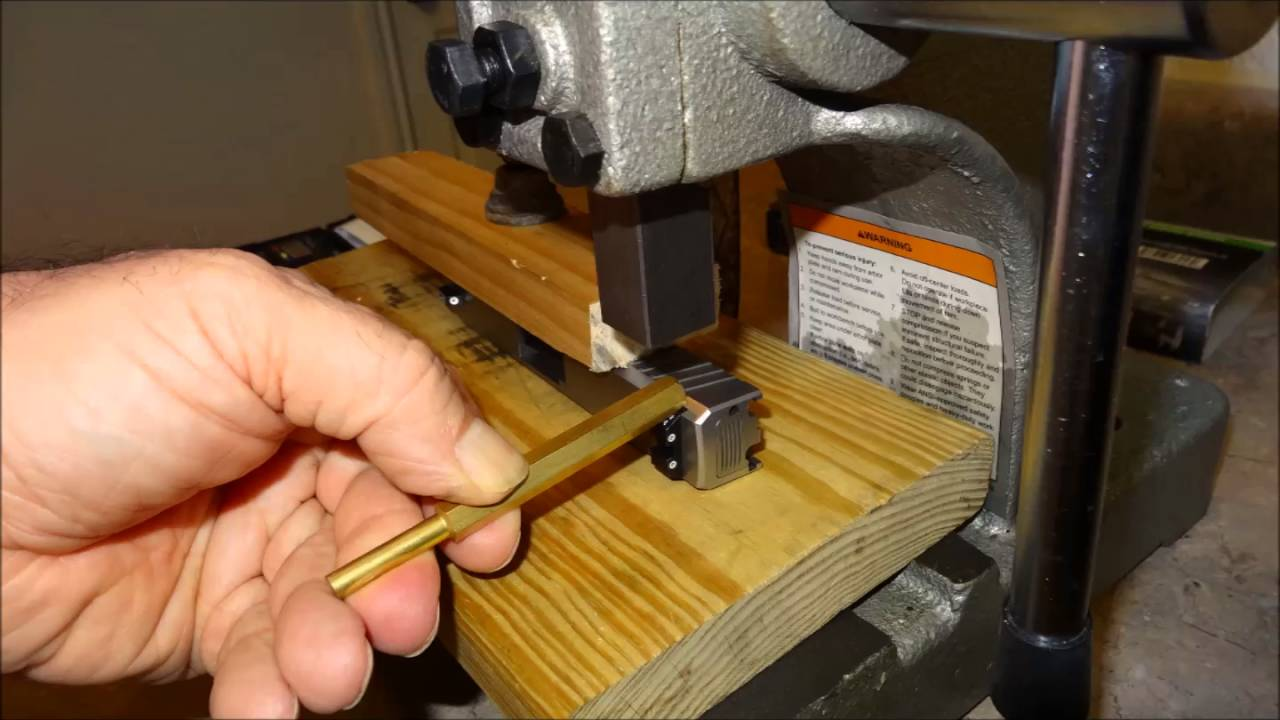 Harbor Freight $32 Gun Sight Installation Pusher Press Tool - DIY Homemade