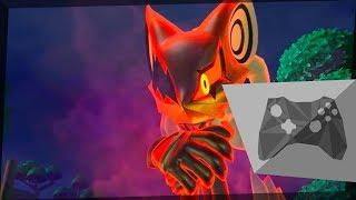 Sonic Forces Speedrun - vs. Infinite 1 (0:59.69)
