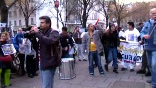 SOAS Justice For Cleaners Demo, 13th November 2012 (part 1)