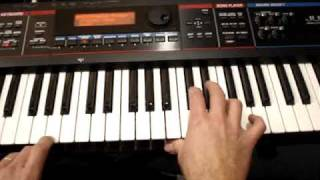 Little Surfer Girl Keyboard Part  How to Play
