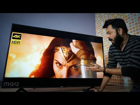 MarQ by Flipkart 55-inch 4K UHD Smart TV Review | Great 4K TV At Budget Price!