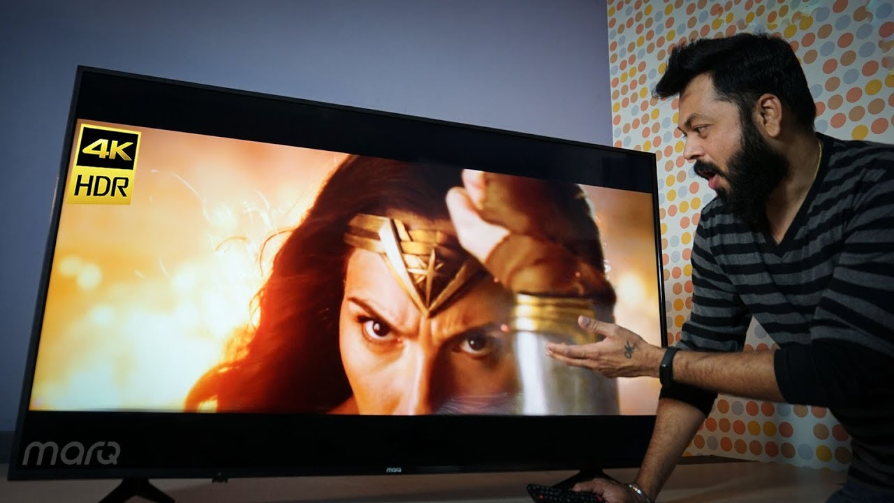 MarQ by Flipkart 55-inch 4K UHD Smart TV Review   Great 4K TV At Budget Price!