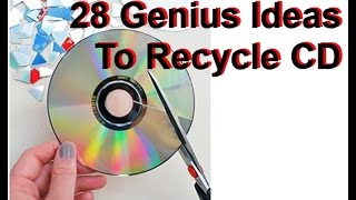 28 DIY Creative Ways to Reuse / Recycle Old CD Rom