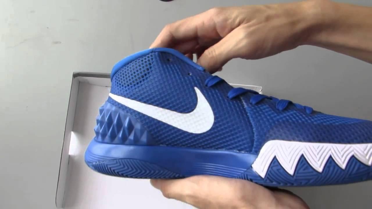 3c25663fa37 2015 new replica Nike Kyrie Blue White men shoes