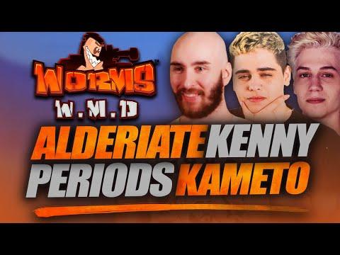 Vidéo d'Alderiate : [FR] ALDERIATE, KAMETO, KENNY & PERIODS - EN MODE NOSTALGIE SUR WORMS W.M.D.