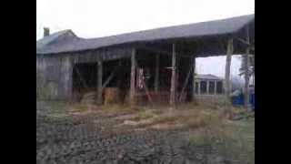 Rozbiórka stodoły 2014