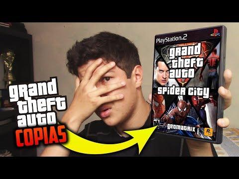 LAS PEORES COPIAS BARATAS DE GTA!! Grand Theft Auto San Andreas, GTA 5