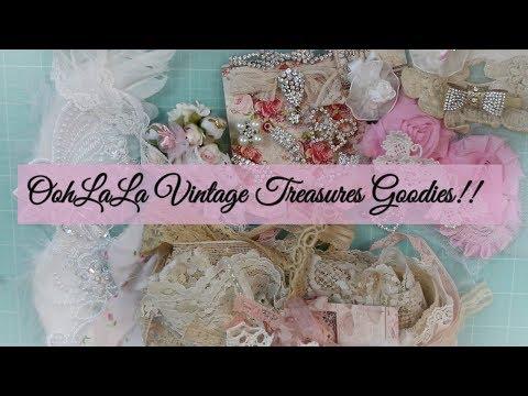 Beautiful Goodies from OohLaLa Vintage Treasures