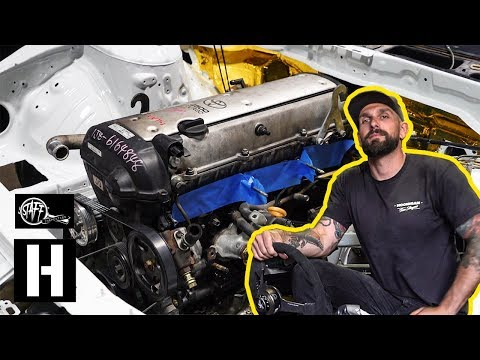 NEW Build! - We Swap a 1jz Into Vin's Nissan s14 Drift…