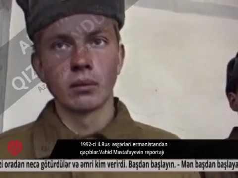 Карабах русские солдаты воевавшиеза армян    в плену у азербайджанцев 2
