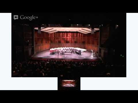 """""""And Then There Was Light"""" Concert with BYU Singers and BYU Concert Choir. Sat Nov 17, 2012."""