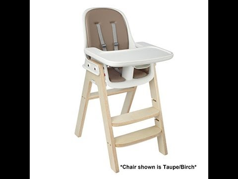 OXO Tot Sprout High Chair, Gray/Birch