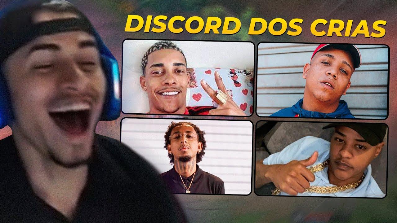 MUCALOL NO DISCORD COM MC POZE, BORGES, MD CHEFE E TZ DA CORONEL