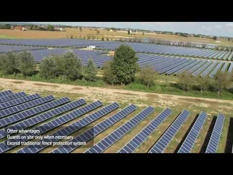 video:Solution for video surveillance of solar plants from Axis Communications