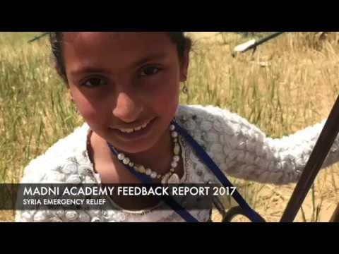 Syria Shelter Feedback - Madni Academy UK 2017