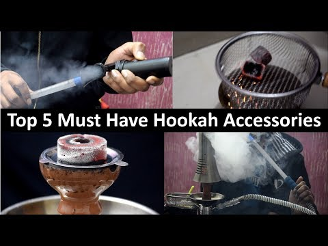 Top 5 Must Have Hookah Accessories (Part 2) |Dense Smoke for Hookah Lovers |Cheap Hookah Accessories