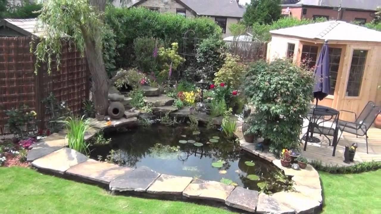 Fish pond revisited pondguru youtube for Garden pool liners uk