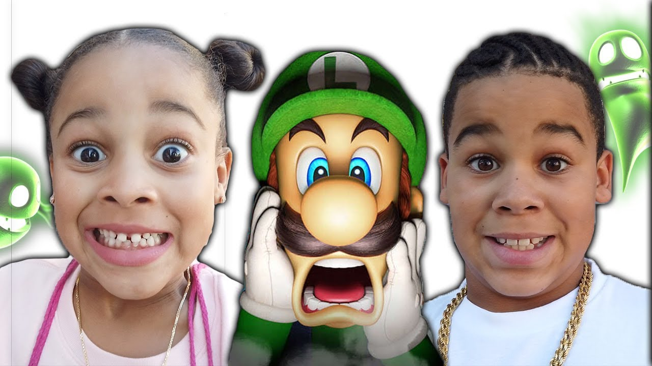 FamousTubeKIDS Go To Luigis Mansion!