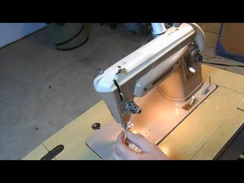 How to thread a singer model 404 sewing machine and others