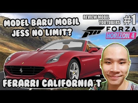MOBIL YOUTUBER - JESS NO LIMIT FERARRI CALIFORNIA SERIES  - FORZA HORIZON 4 INDONESIA #1
