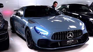 2020 Mercedes AMG GTR Pro   BRUTAL FULL Review China Blue Sound Exhaust Interior Exterior